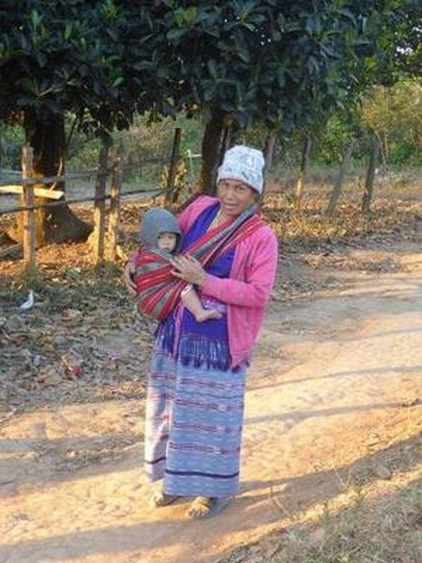 grandma walking her grandchild