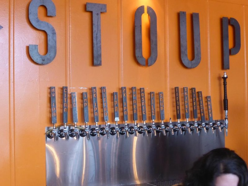 the tap at Stoup