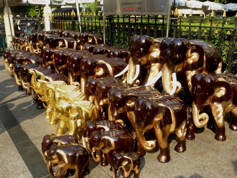 votive elephants