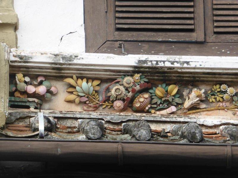 Melaka house (detail)