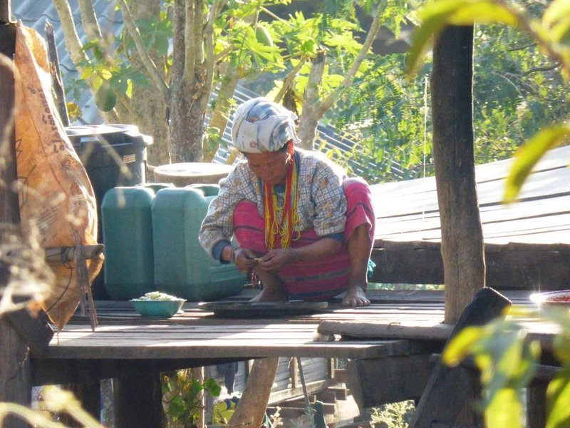 another lady preparing another breakfast