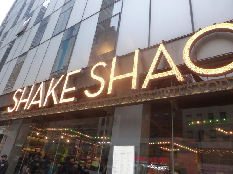 Shake Shack no more
