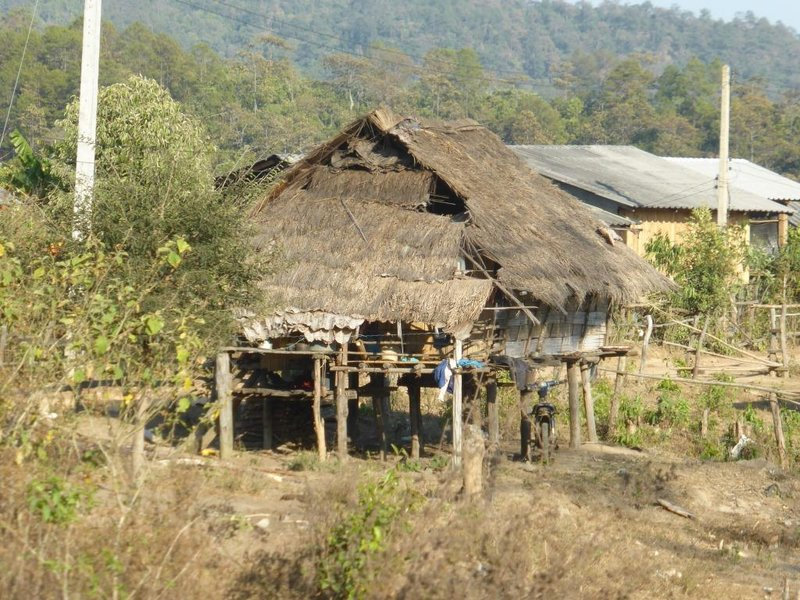 one of the last houses with a thatched roof