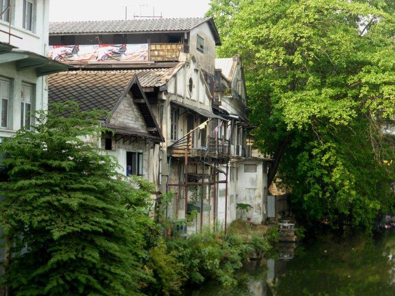 canal, central Bangkok