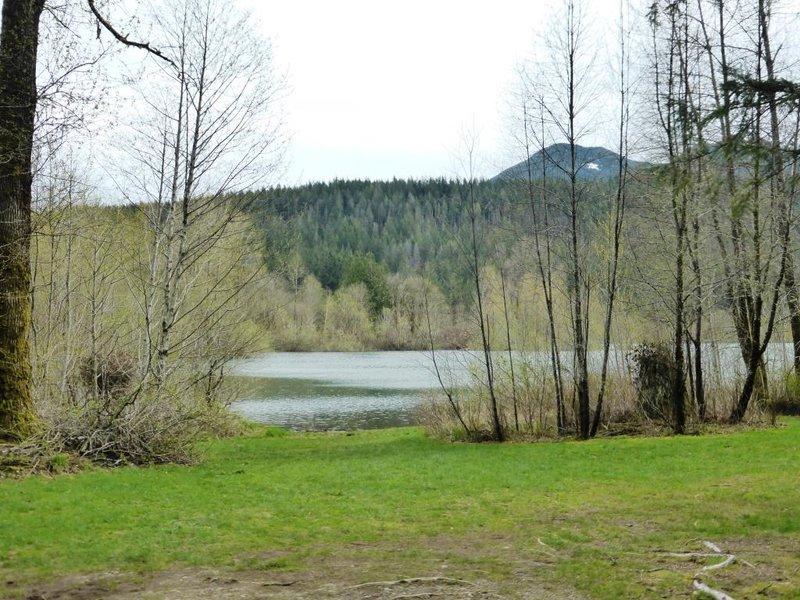 lake at the bottom