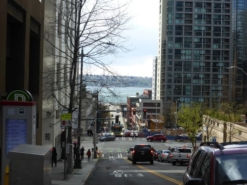 streetview downtown Seattle