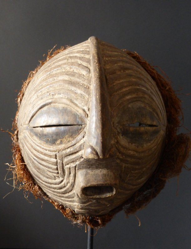 Jef Vincent's Luba Kifwebe mask