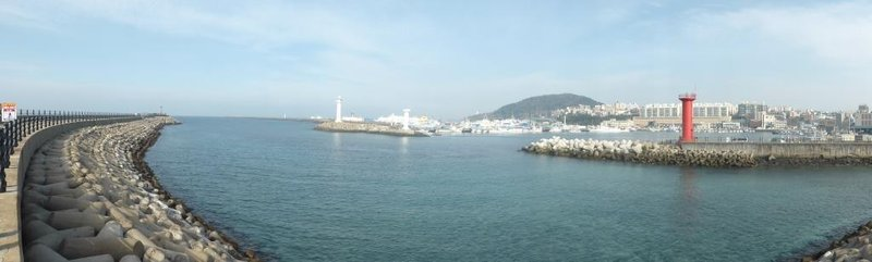 the port of Jeju