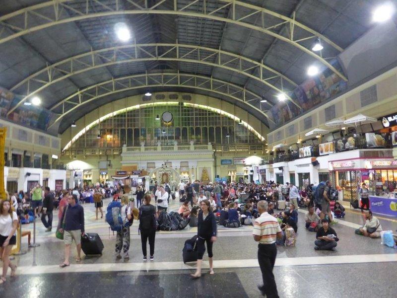 station hall in Bangkok