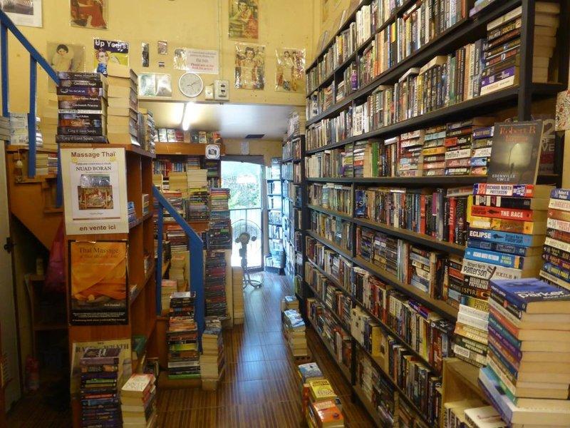 a second hand bookshop