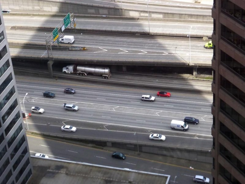 the I5 from above