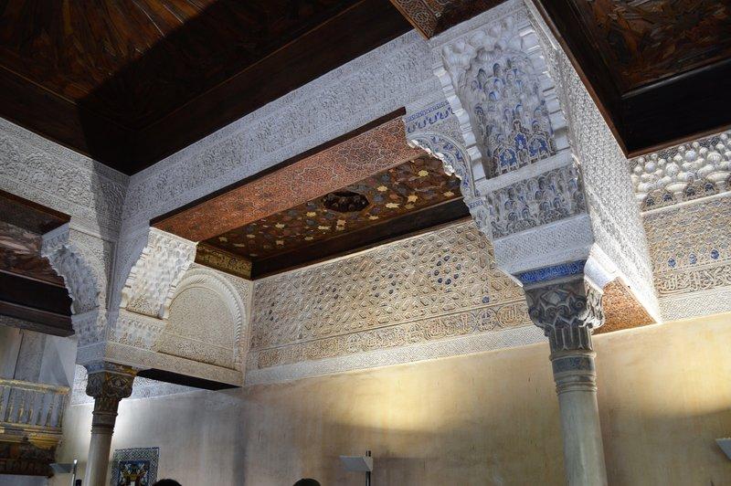 Alhambra: entrance chamber