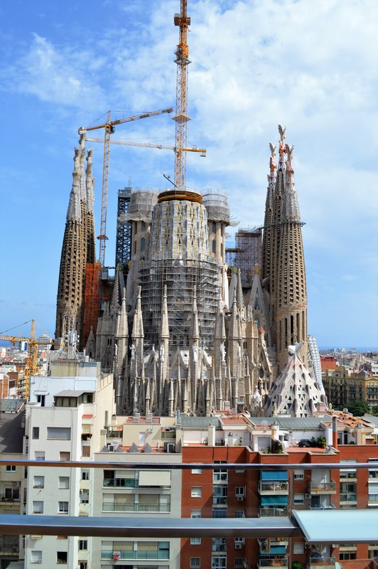 Sagrada Familia from up high