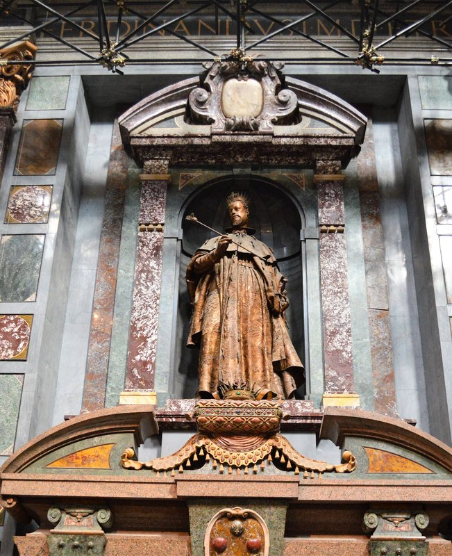 Cappelle Medicee: Ferdinando I de' Medici