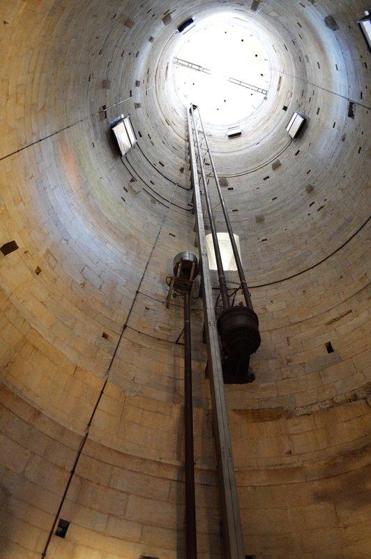 Inside of tower