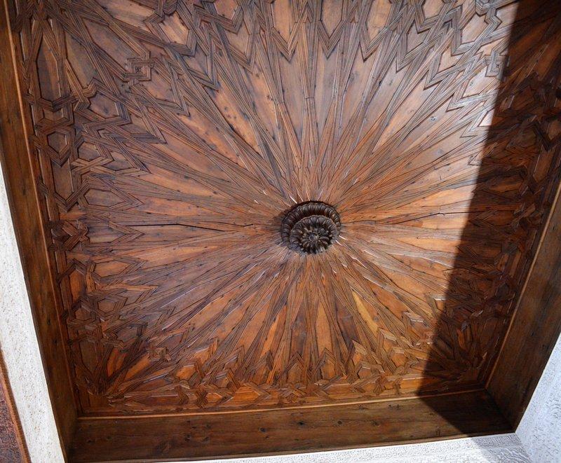 Alhambra: restored wooden ceiling