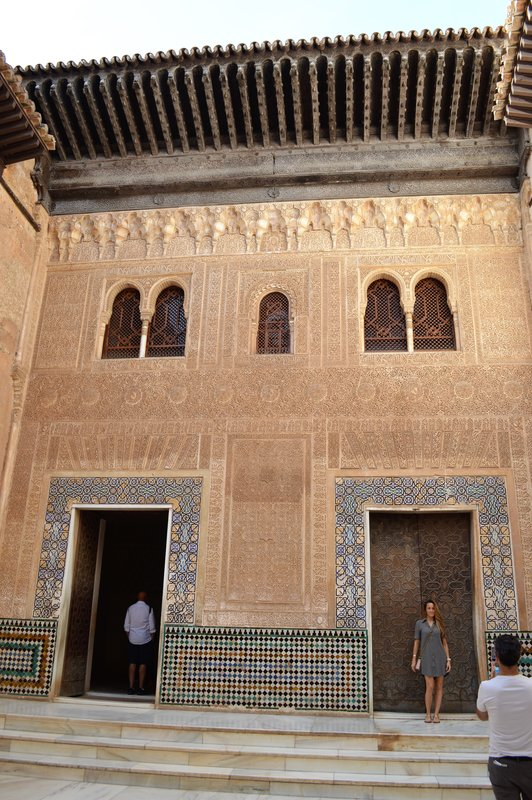 Alhambra: Entrance to the audience room