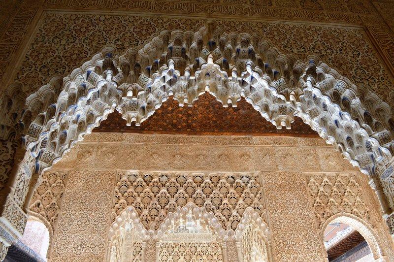 Alhambra: arch detail