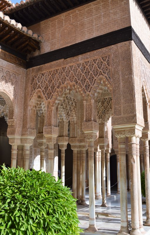 Alhambra: private quarters