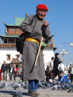 UB - Mongol and temple