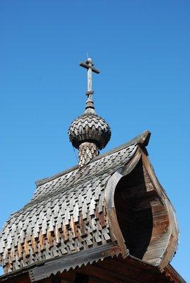 Lake Baikal - Chapel (detail)