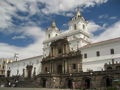 Quito - Monastery of San Francisco