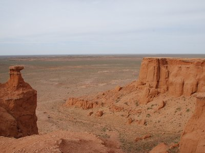 Gobi - View at Flaming Cliffs