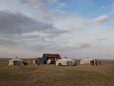 Gobi - Nomad Camp