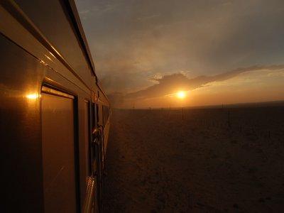 Train to Beijing - Sunset