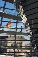 Berlin - Inside the Reichstag dome