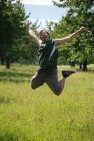 Bodensee - jumping Fredrik