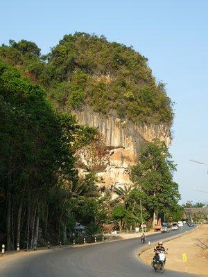 ilyen mészköves egész Krabi térsége