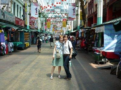 Enikővel Chinatownban