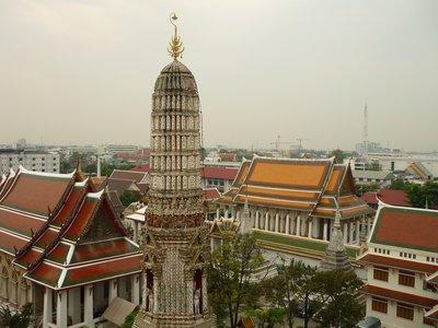 Wat Arun egyik tornya