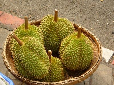durian az utcán