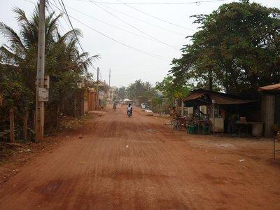 a legtöbb út ilyen Kambodzsában