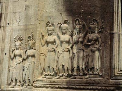 Angkor női