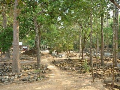 Csaba szerint itt gyártják Angkor köveit