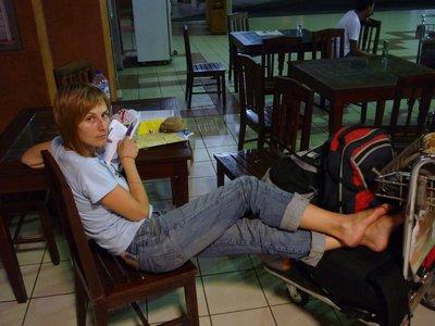 Első éjszakánk Balin