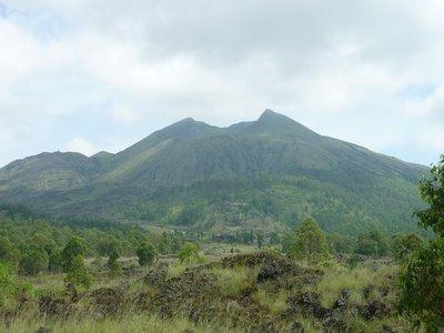 a Batur vulkán