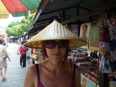 a kényelmetlennek bizonyuló bambuszkalap