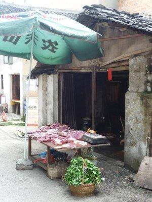 ázsia-autentikus hentes- és húsárú