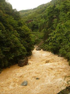 a háborgó folyó