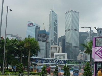 Hong Kong sziget nappali megvilágításban