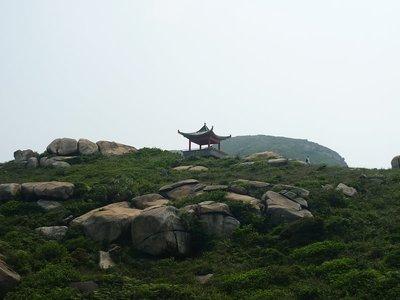 kis pagoda a hegyen, aminek meghódítása elég sok izzadságcseppünkbe került