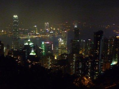 az esti HK a Viktória csúcsról