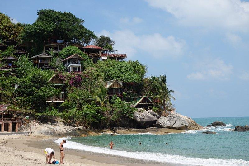 The beautiful beaches of Koh Phangan