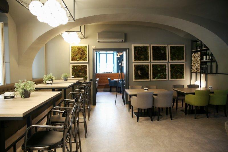 Interior of Caffe and Bistro Franz