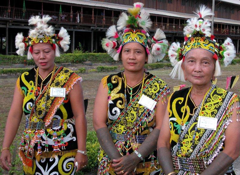 Orang Ulu Ladies