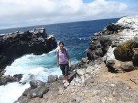On Plaza Sur, Galapagos Islands